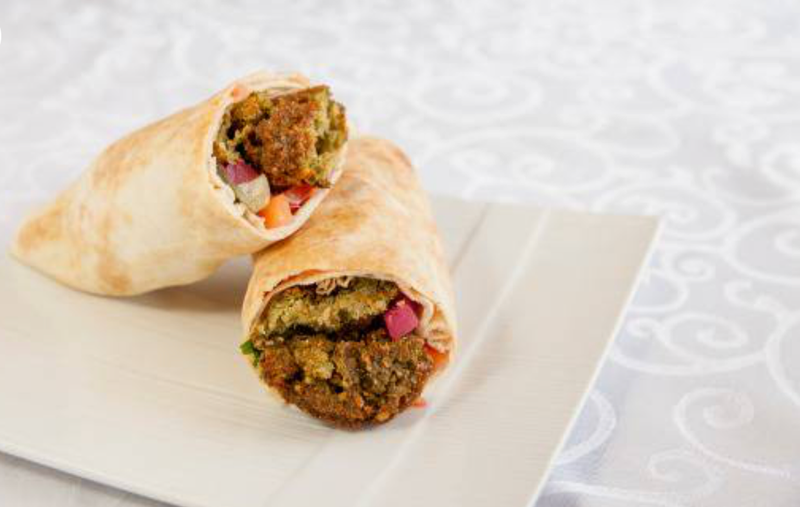 Falafel Wrap Image
