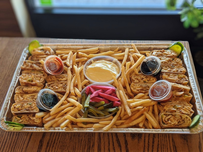 Beef & Chicken Super Family Platter Image