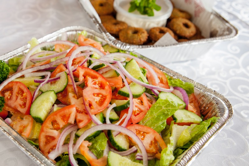 Gluten-Friendly Family Falafel Platter Image
