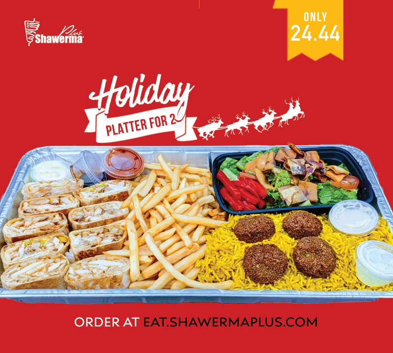 Holiday Platter for 2