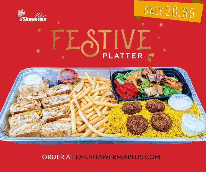 Festive Platter for 2 Image