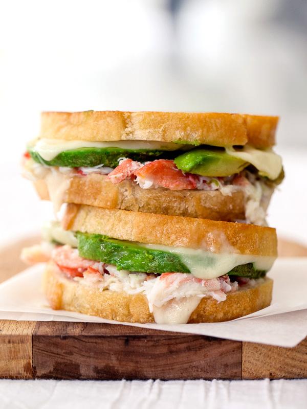 Crab Avocado Sandwich Image
