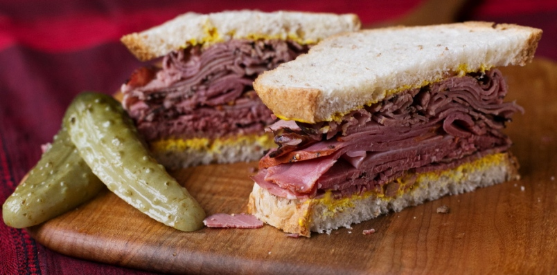 Montreal Smoked Meat Sandwich Image