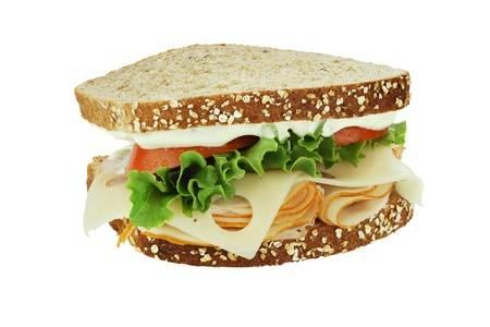 Chicken Swiss Sandwich Image