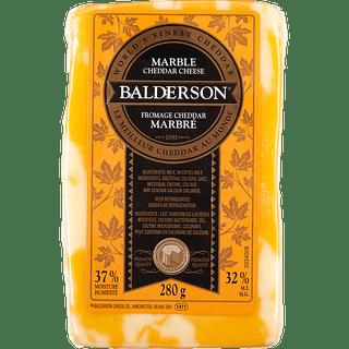 Balderson Cheddar Cheese - Marble , White or orange Image
