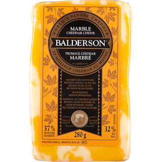 Balderson Cheddar Cheese - Marble , White or orange Image