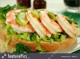 Shrimp Avocado Sandwich Image