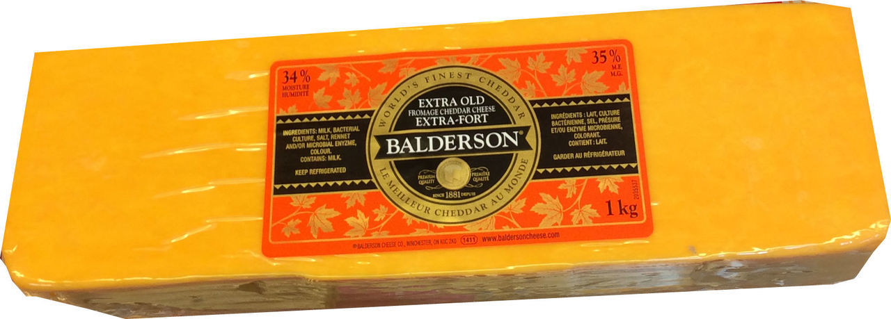 Balderson Cheddar Cheese - Old Image