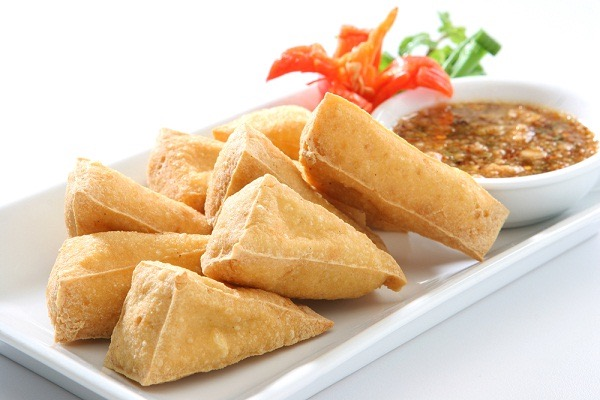 Crispy Tofu (เต้าหู้ทอด)