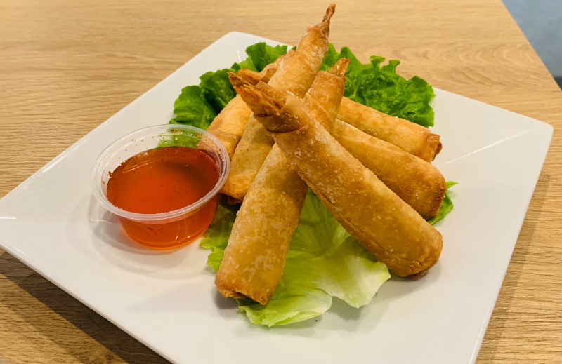 Shrimp In A Blanket (ป.กุ้ง) Image