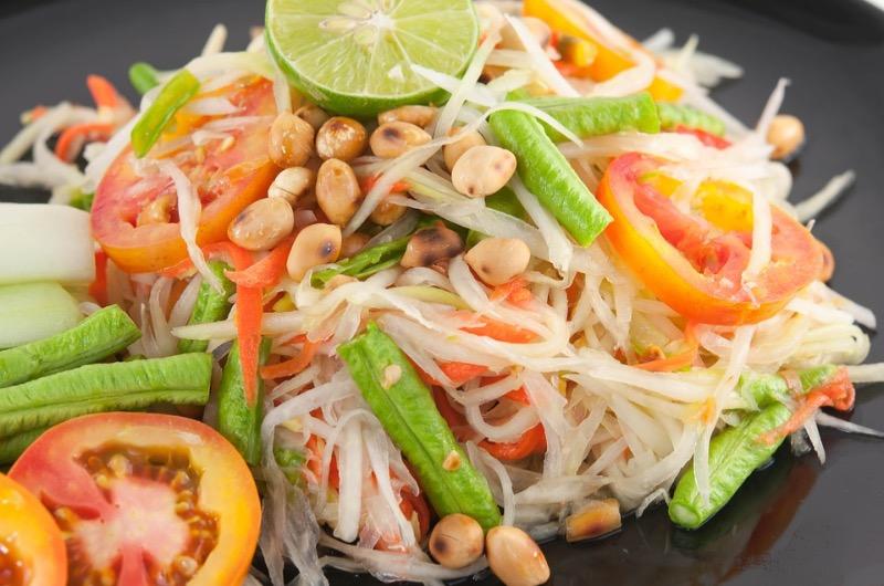 Papaya Salad (ส้มตำ) Image