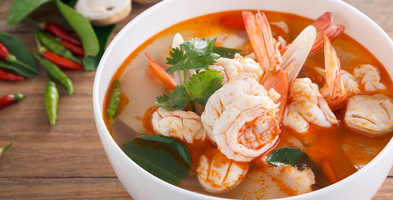 Tom Yum Soup (ต้มยำ)