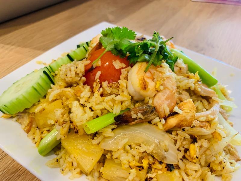 Pineapple Fried Rice (ข.สับปะรด)