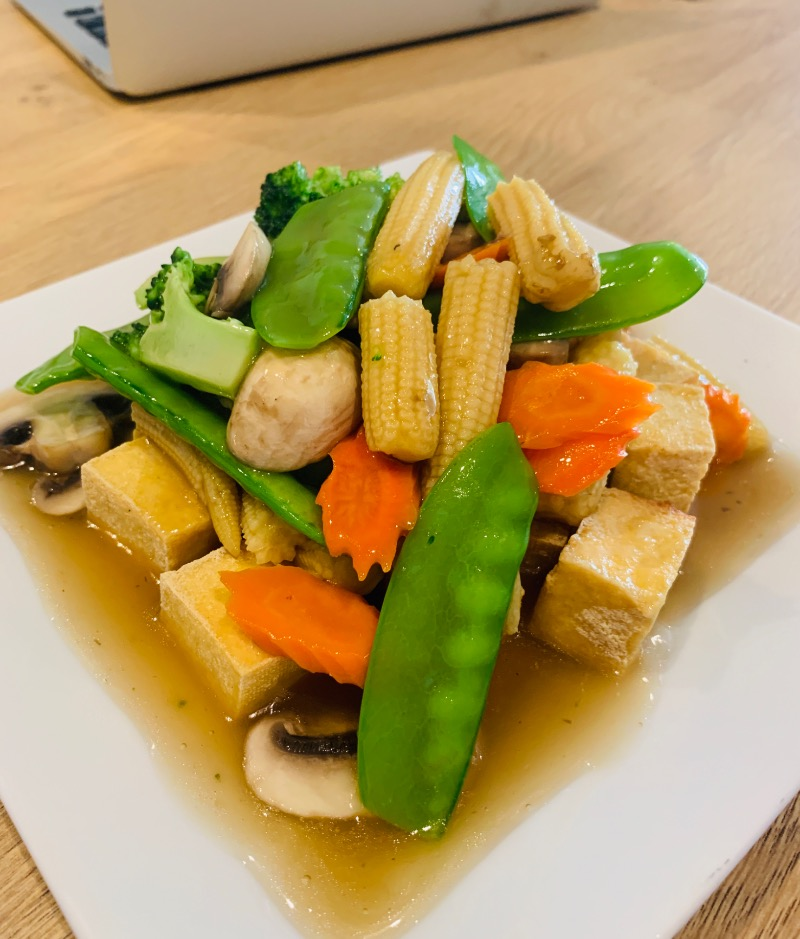 Vegetable Delight (หู้ดีไล้)