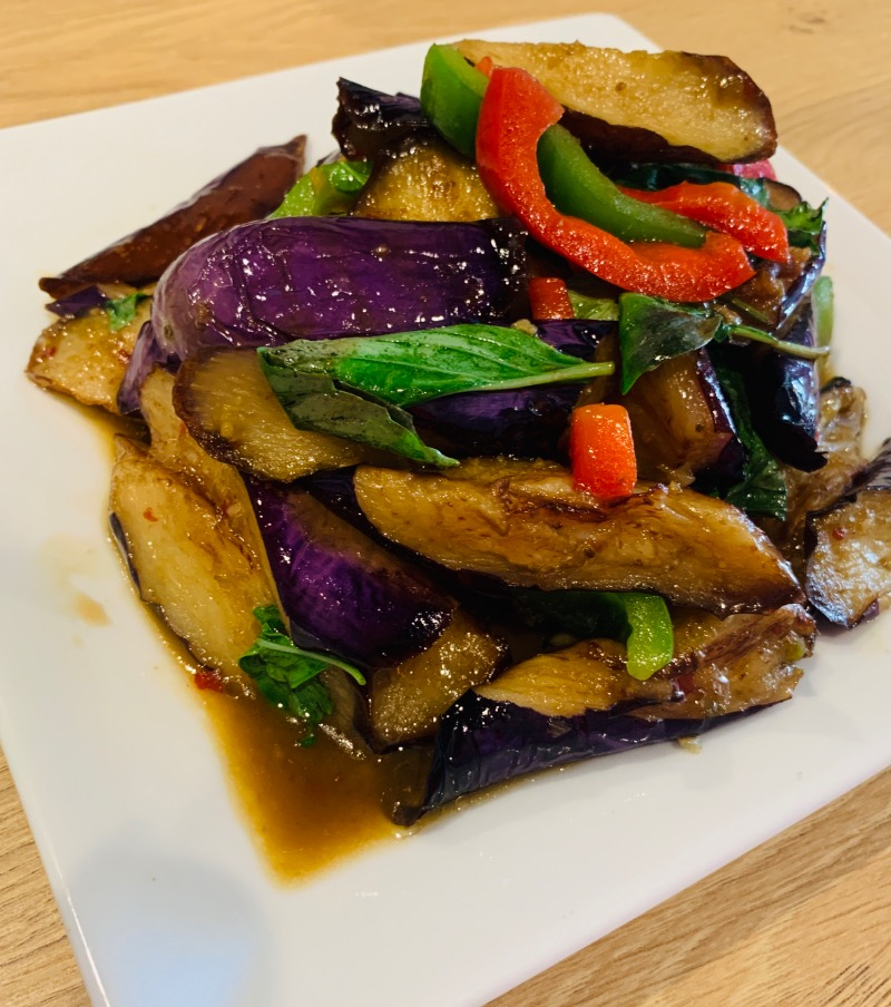 Spicy Eggplant (มะเขือ)