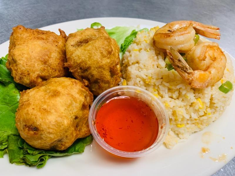 A5.Crab Ball Dinner (A5.ปูจ๋า)