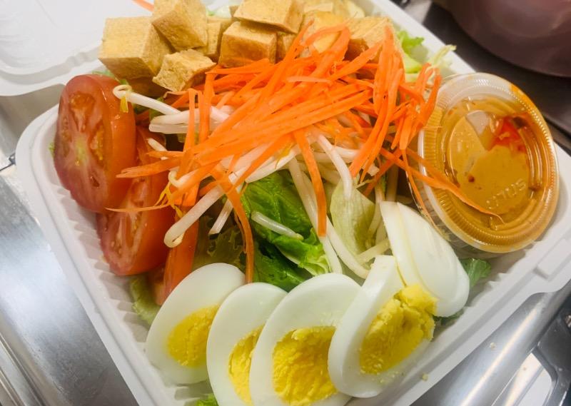 Veggies Salad Deluxe (สลัดแขก) Image