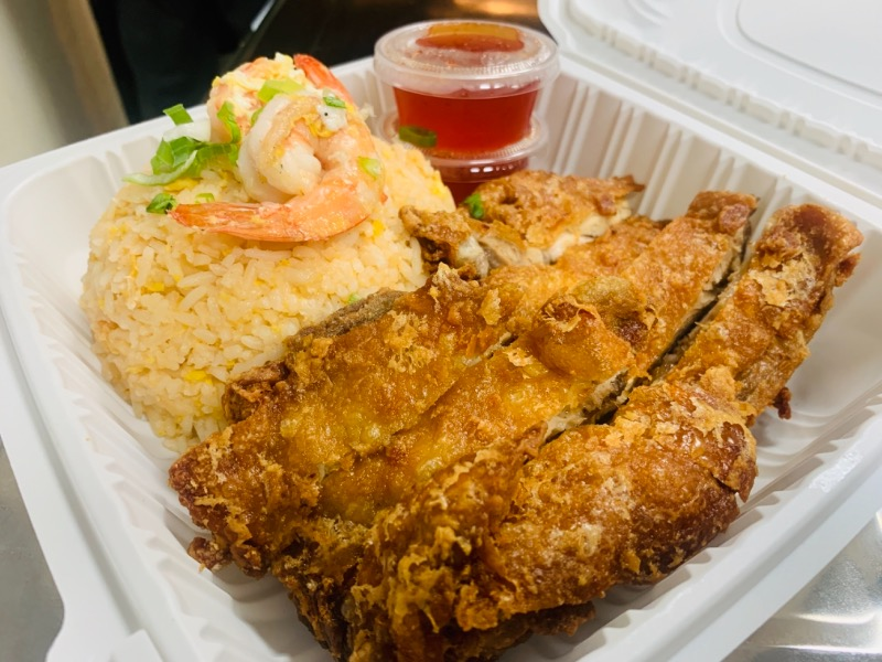 A2.Crispy Chicken Dinner (A2.ไก่ทอด) Image