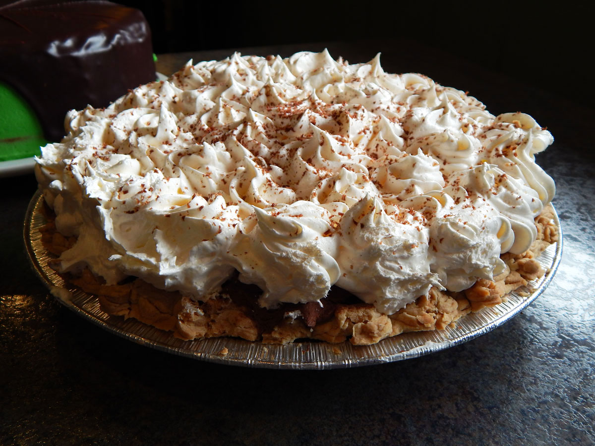 Slice of Fresh-Made Pie Image