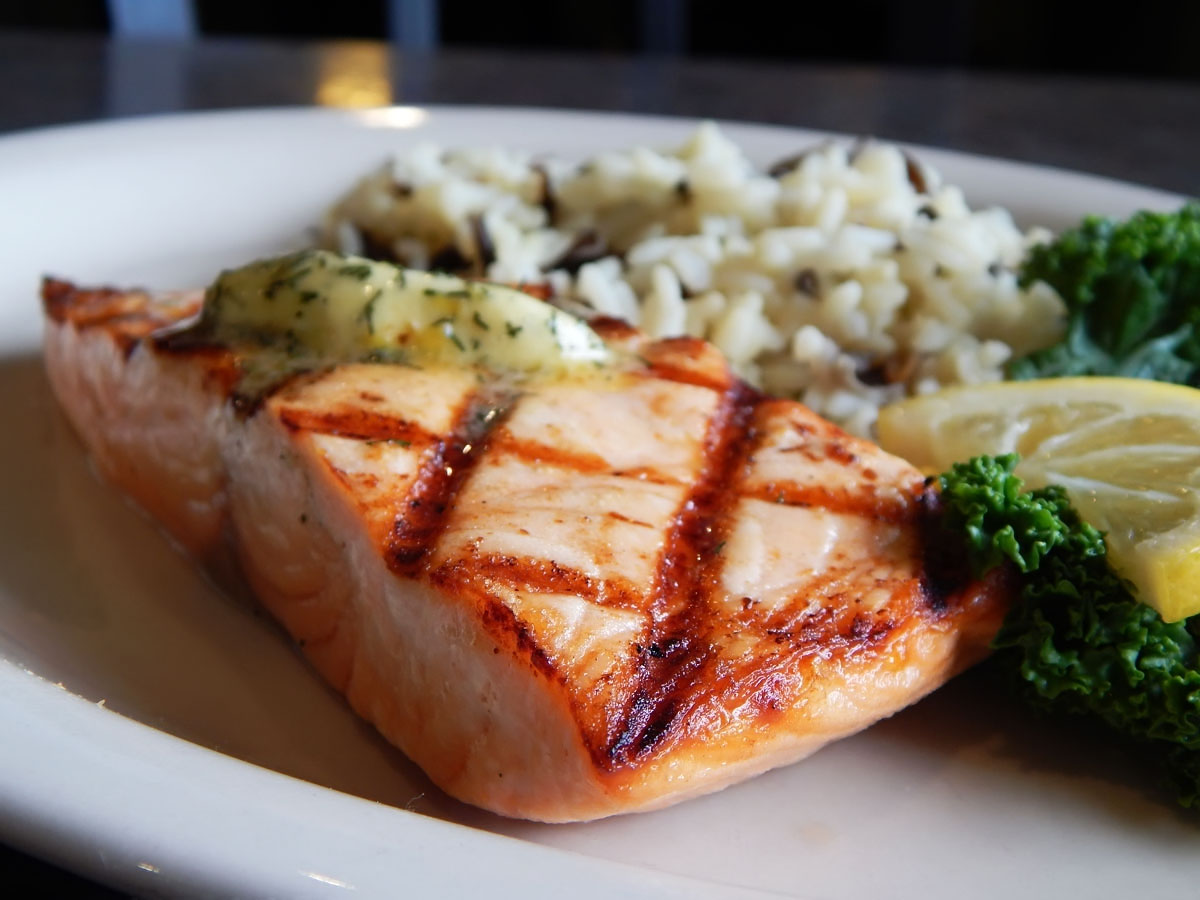 Grilled Fjord Salmon Image