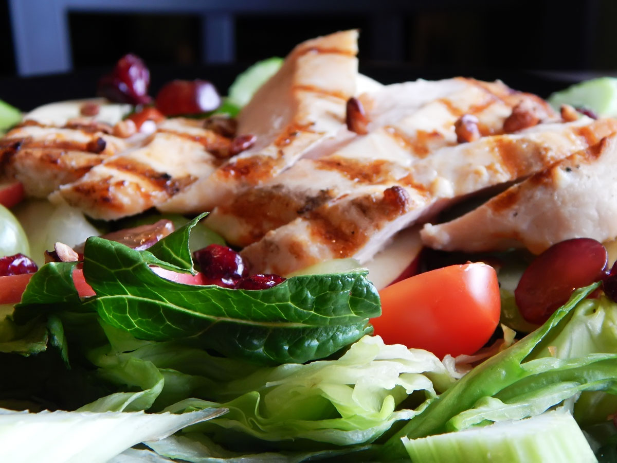 Apple Chicken Waldorf Salad Image