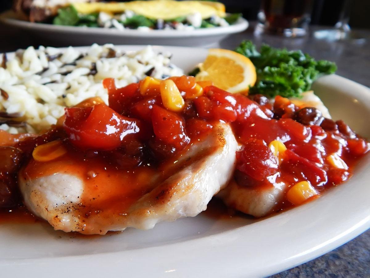 Grilled Chutney Pork Loin Image