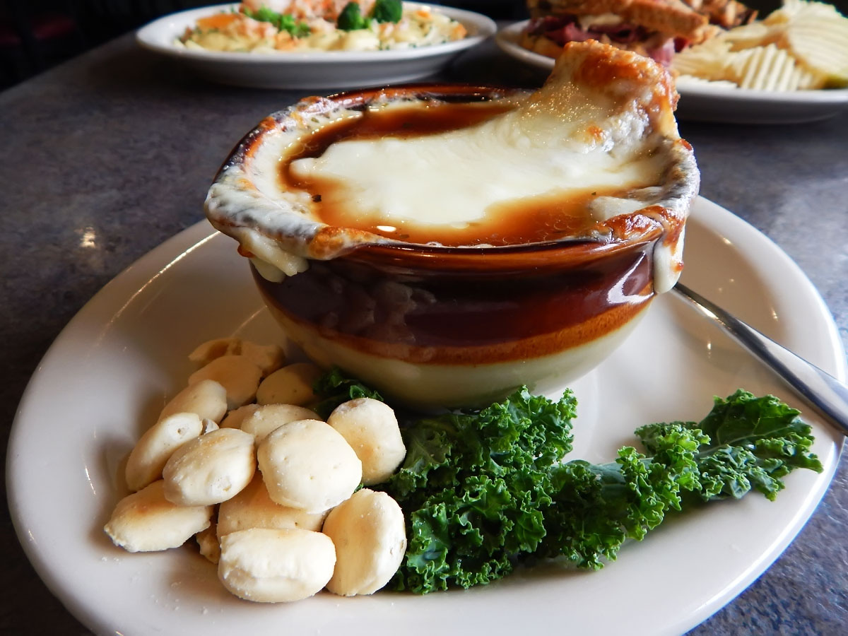 French Onion Soup Gratinee Image