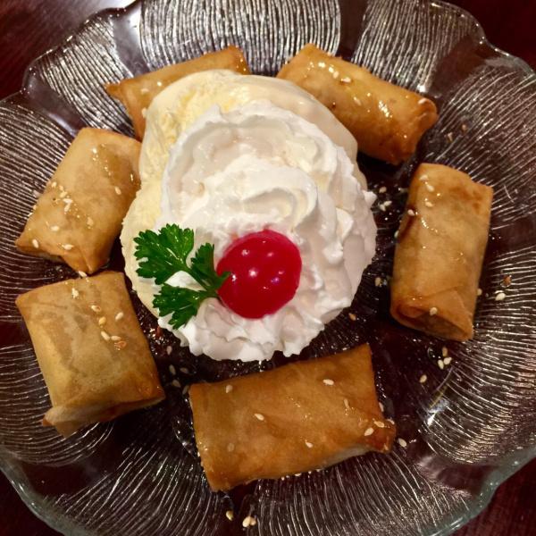 Fried Banana W/ Ice Cream Image