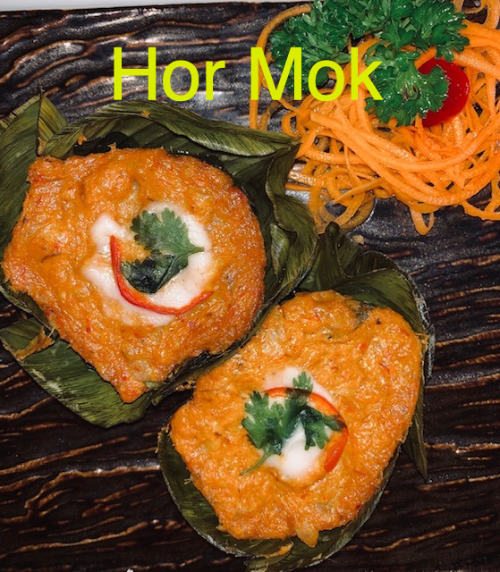 Hor Mok (Curry Paste Cake)
