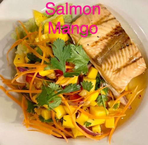 Salmon Mango Image