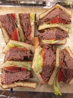 Roast Beef and Provolone  Hot Sammie Image