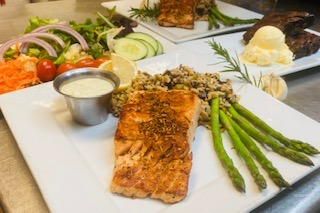 SALMON FOR 2 Image