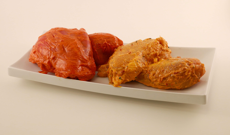 Raw Marinated Chicken Image