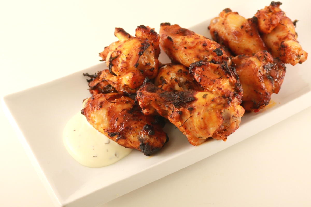 Cooked Chicken Wings Image