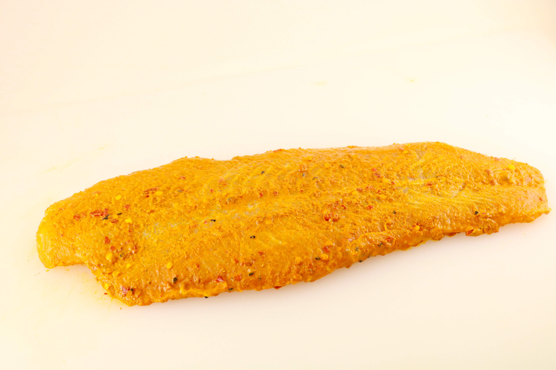 Raw Marinated Basa Fillet Fish Image