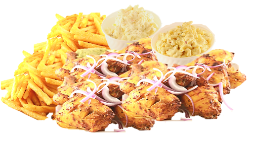 16 Pcs Mix Grilled Chicken (4 lbs) Image