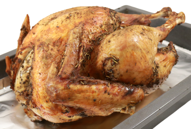 Lemon & Herb Cooked Turkey Image