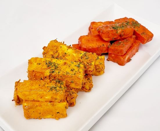 Cooked Spicy Paneer Tikka