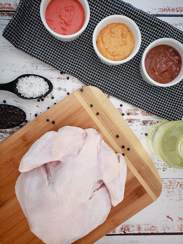 Raw Plain Whole Chicken Image