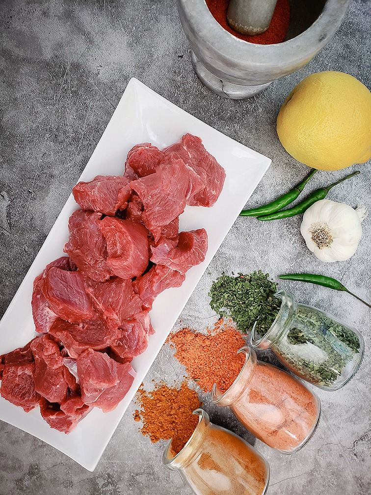Raw Plain Boneless Lamb Image