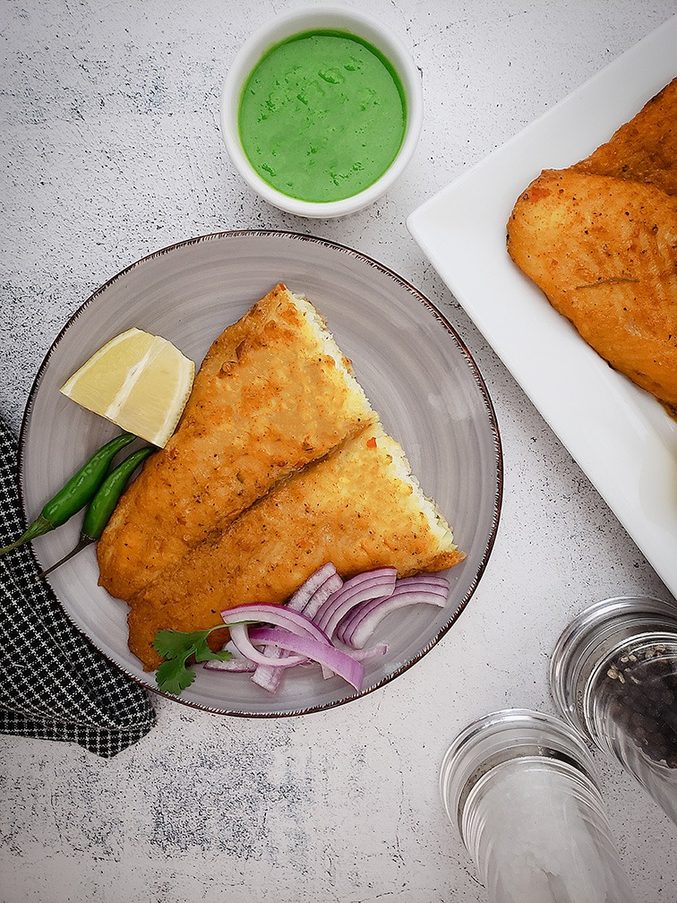 Cooked Basa Fish Fillet