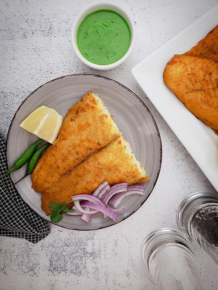 Cooked Basa Fish Fillet Image