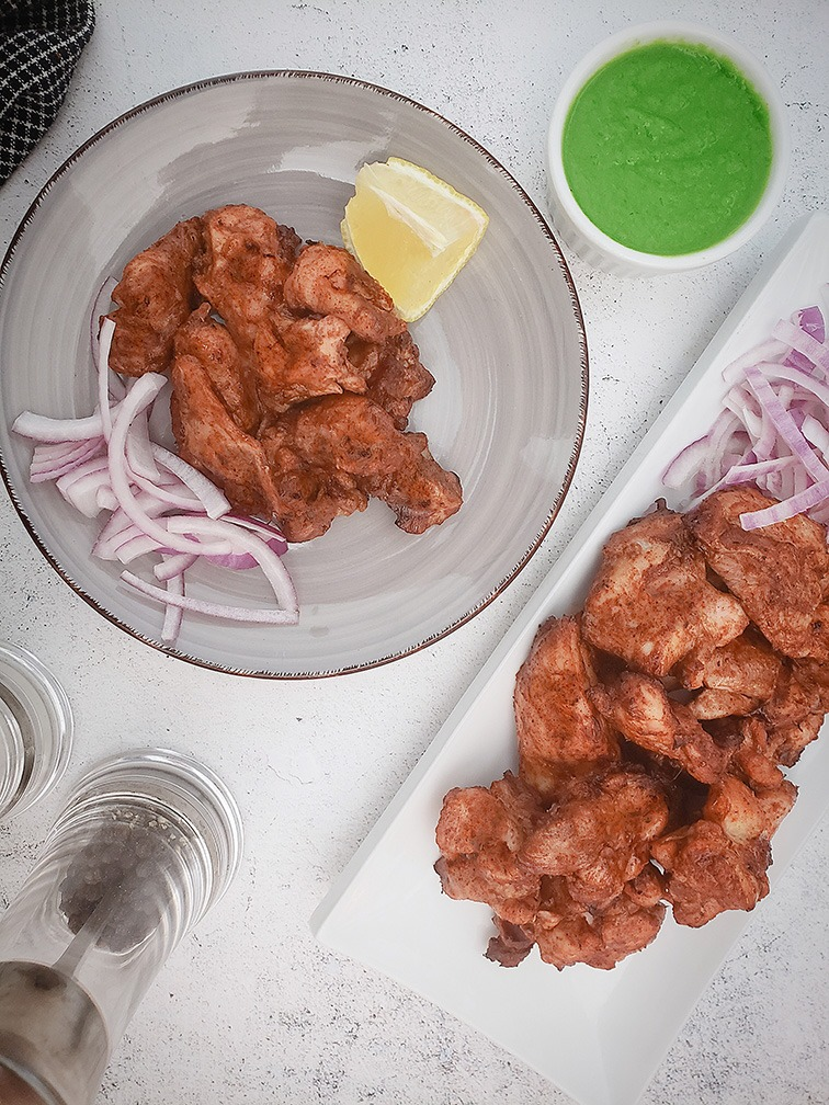 Cooked Chicken 65 Tikka Image