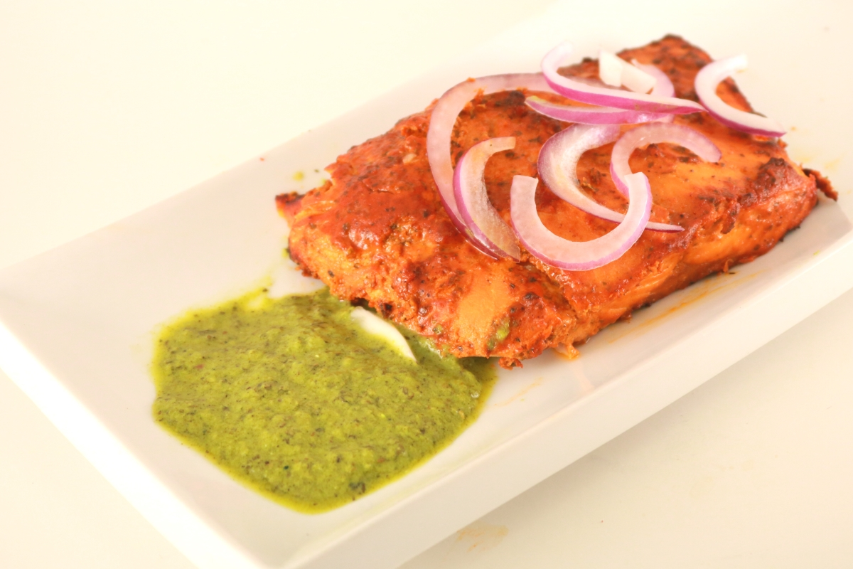 Cooked Salmon Fish Fillet Image