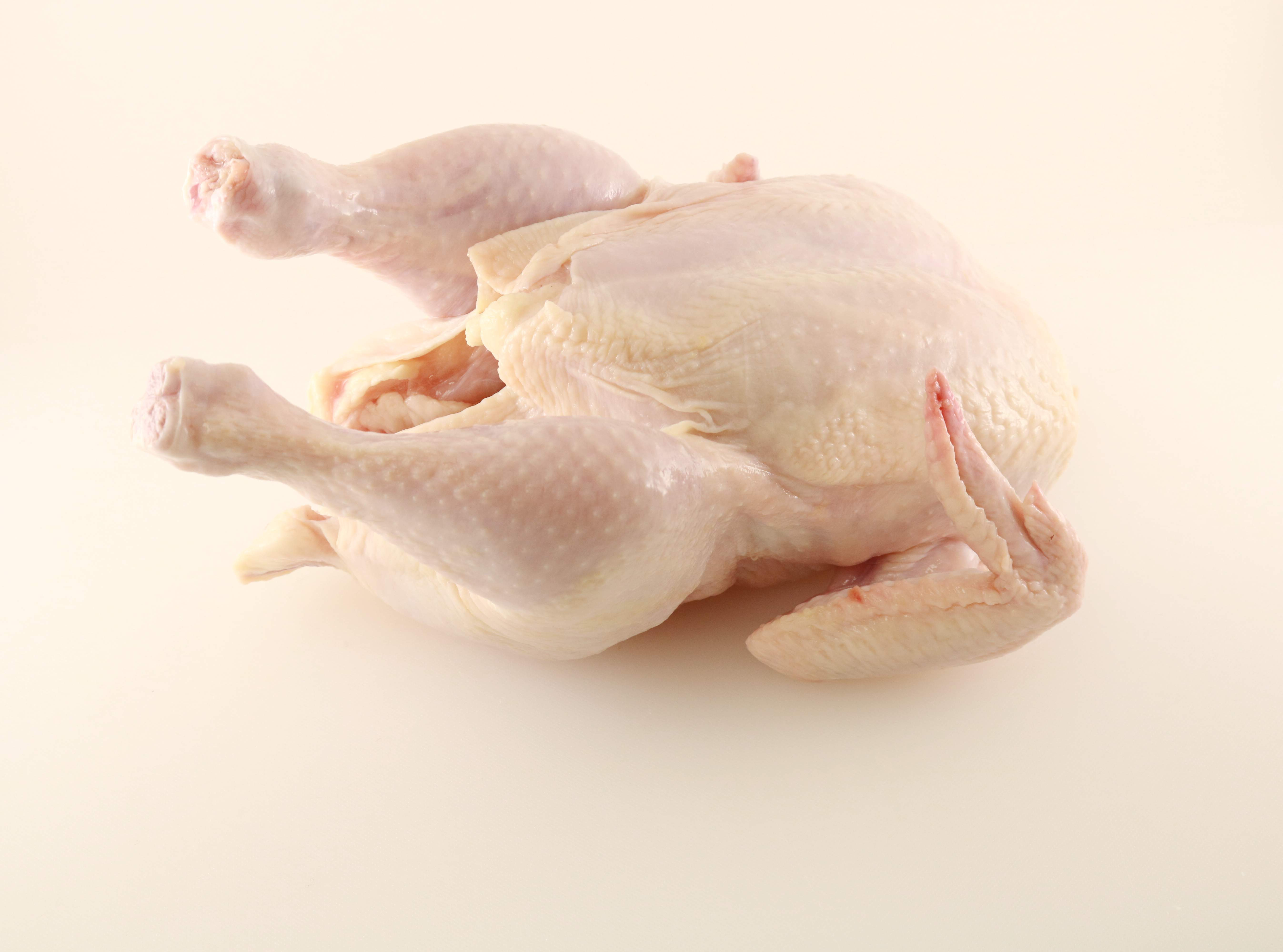 Raw Plain Whole Chicken Image