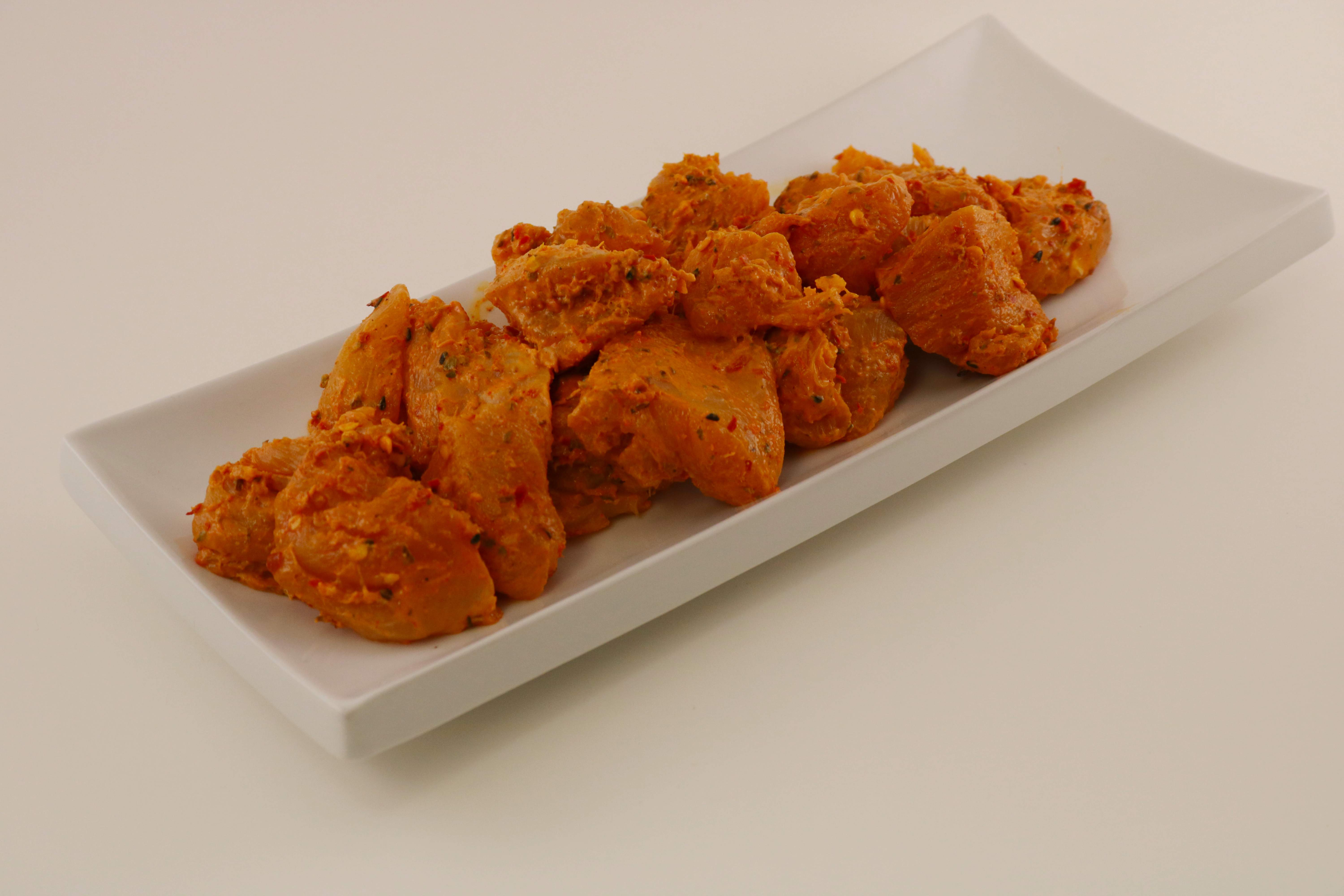 Raw Marinated Butter Chicken Breast Image