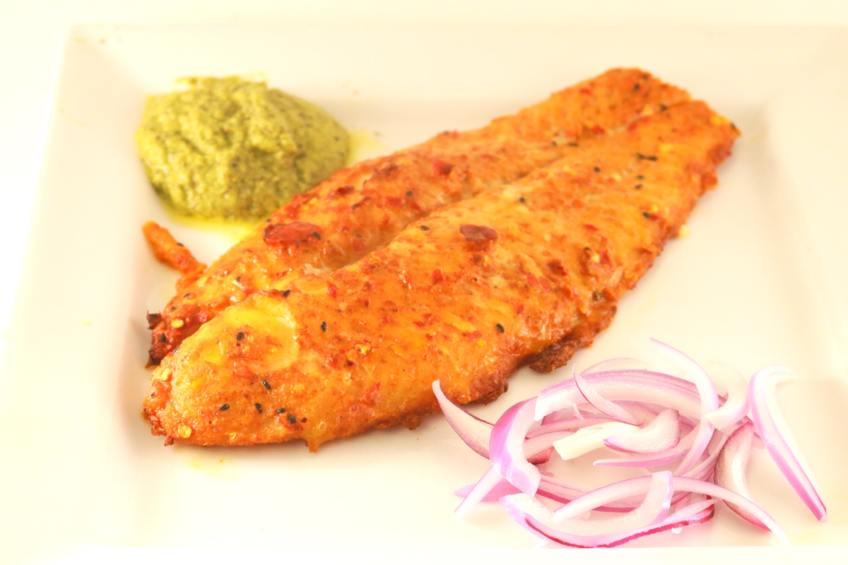 Cooked Basa Fish Fillet Image