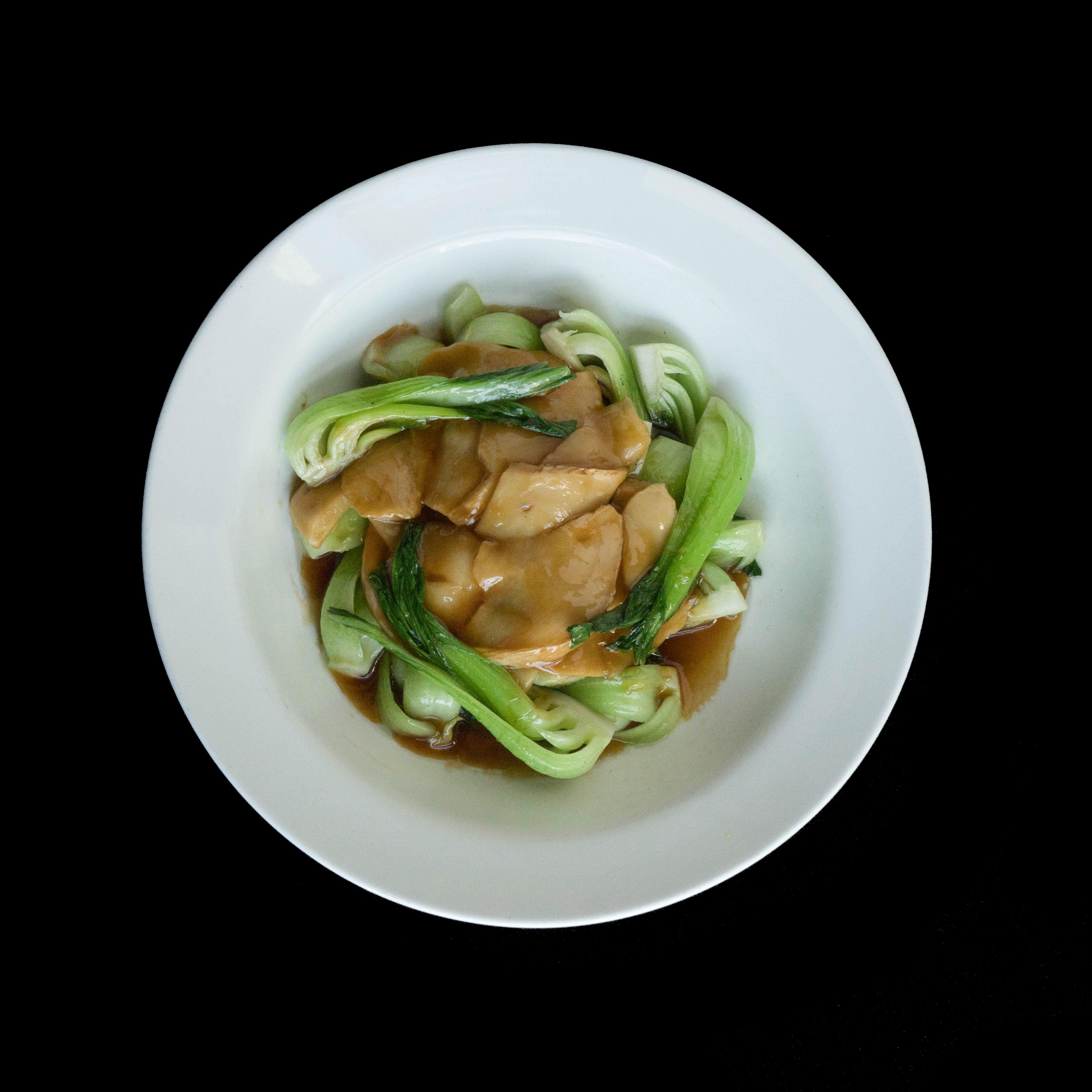 65. 冬菇扒菜胆 Shiitake Mushroom Braised Bok Choy