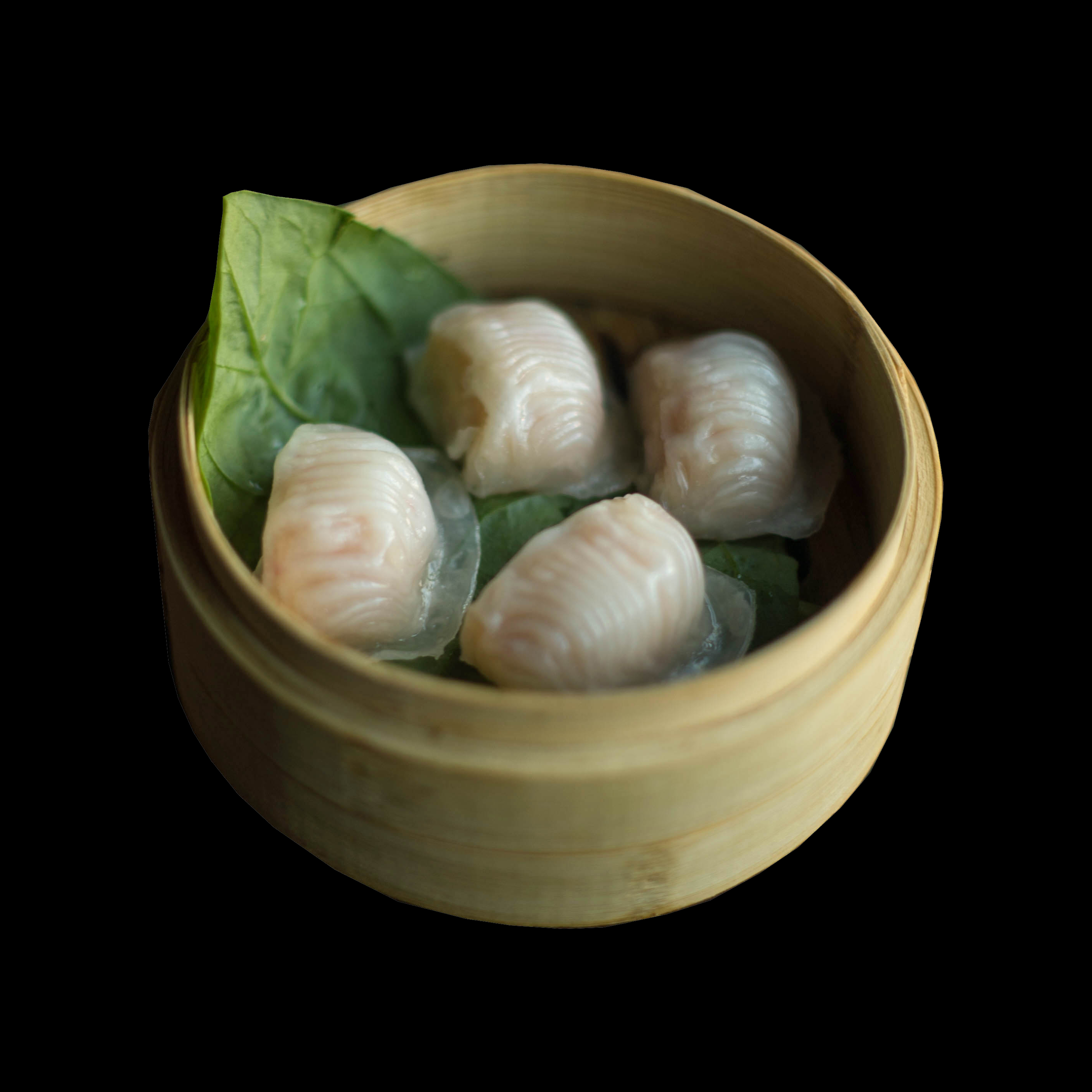 2. 虾饺 Shrimp Dumplings