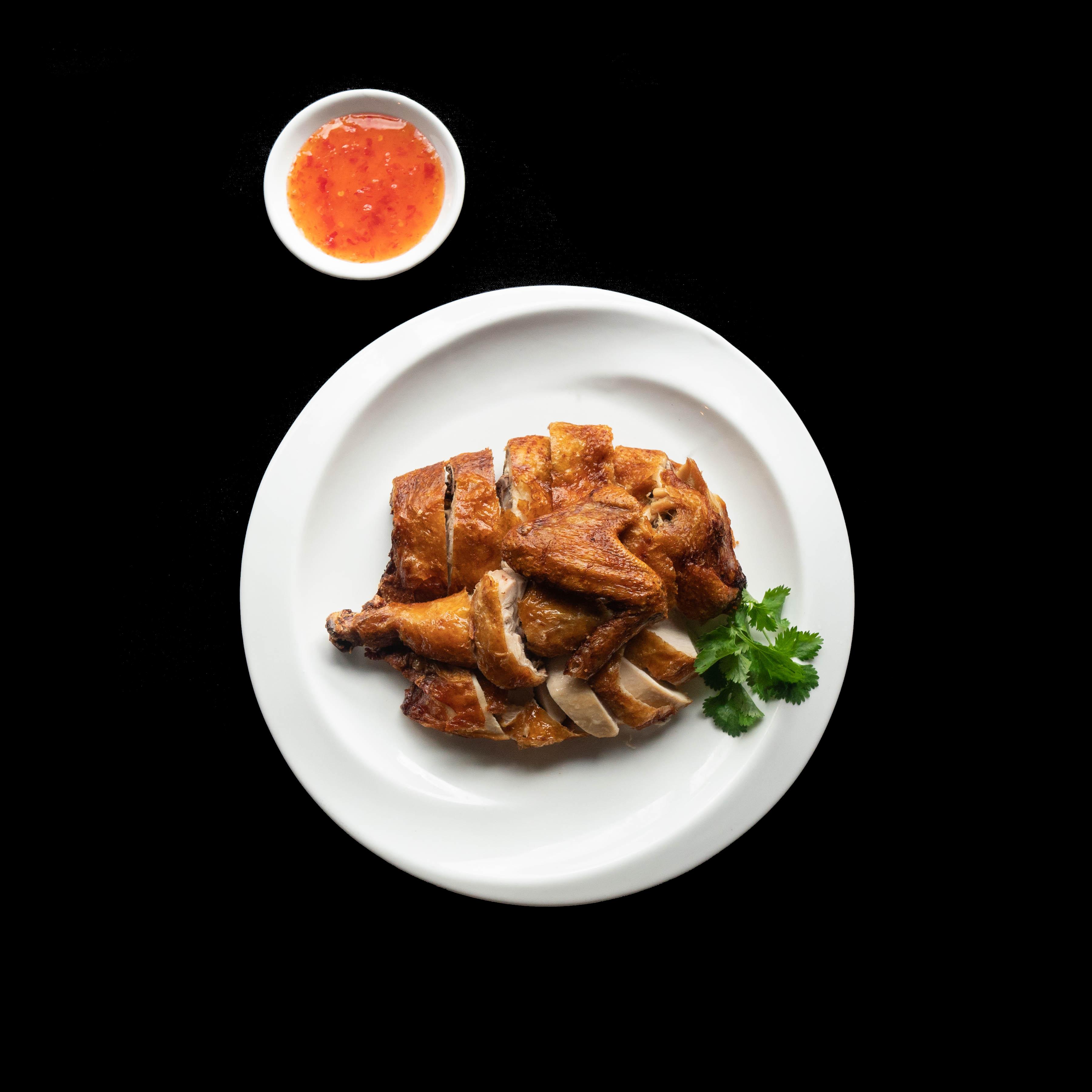 52. 脆皮炸子鸡  Crispy Skin Roasted Chicken Image